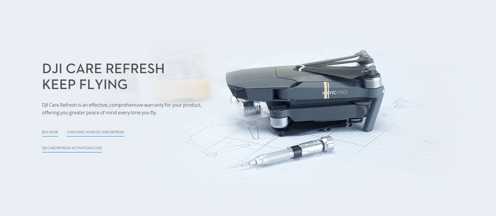 DJI Care Refresh Ratgeber Titelbild