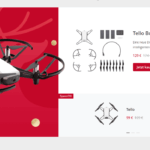 dji ryze tello 99 euro winter sale