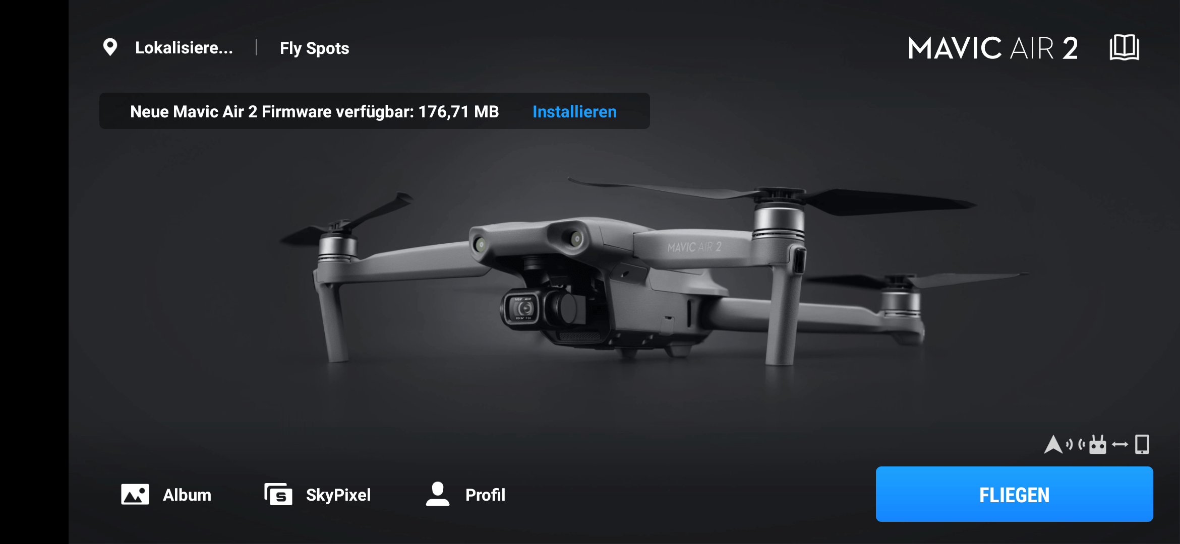 dji mavic air 2 firmware 01-01-0610